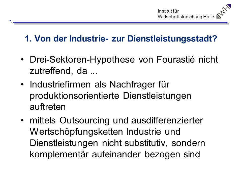 1. Von der Industrie- zur Dienstleistungsstadt