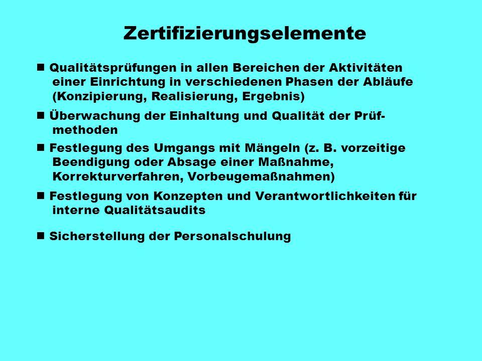 Zertifizierungselemente