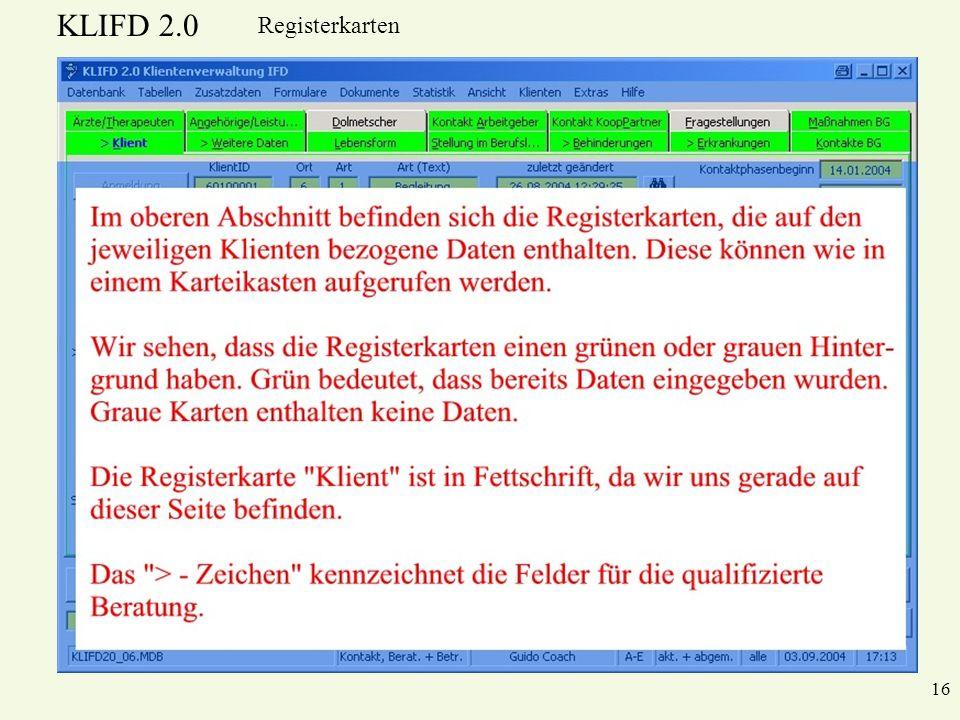 Registerkarten