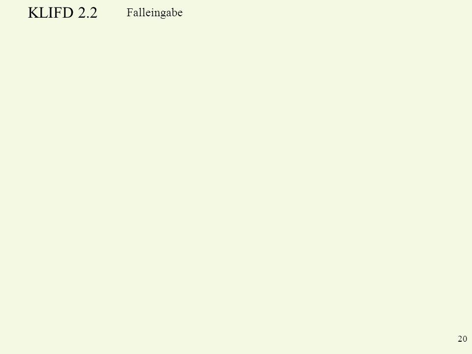 Falleingabe
