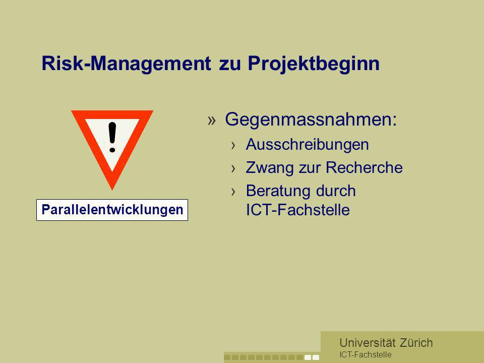 Risk-Management zu Projektbeginn