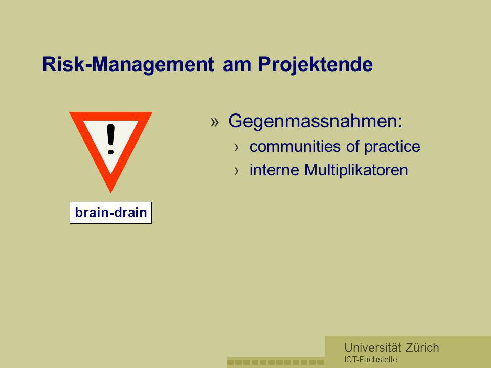 Risk-Management am Projektende