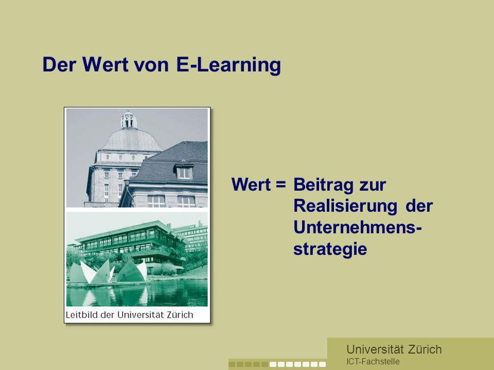 Der Wert von E-Learning