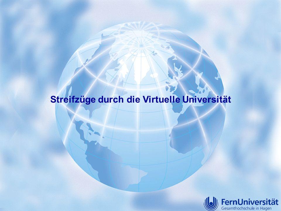 Streifzüge durch die Virtuelle Universität