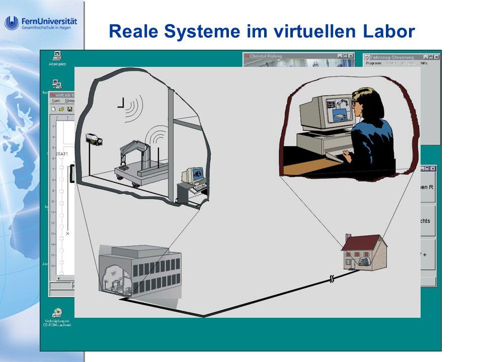 Reale Systeme im virtuellen Labor