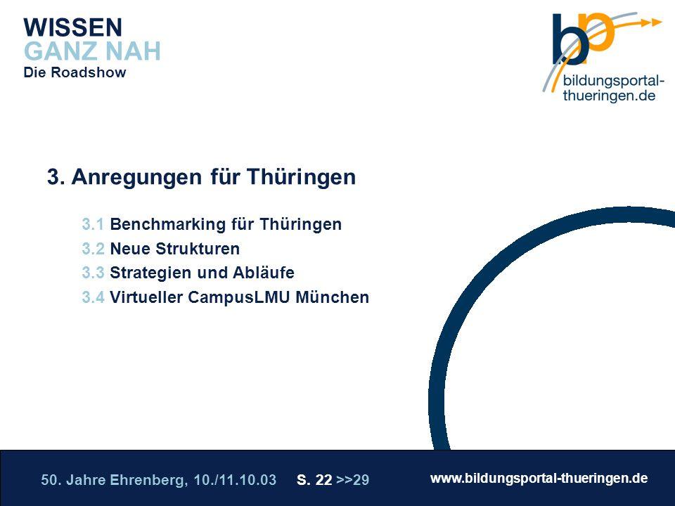 3. Anregungen für Thüringen