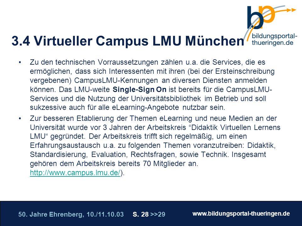 3.4 Virtueller Campus LMU München
