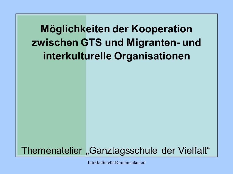 """Themenatelier """"Ganztagsschule der Vielfalt"""