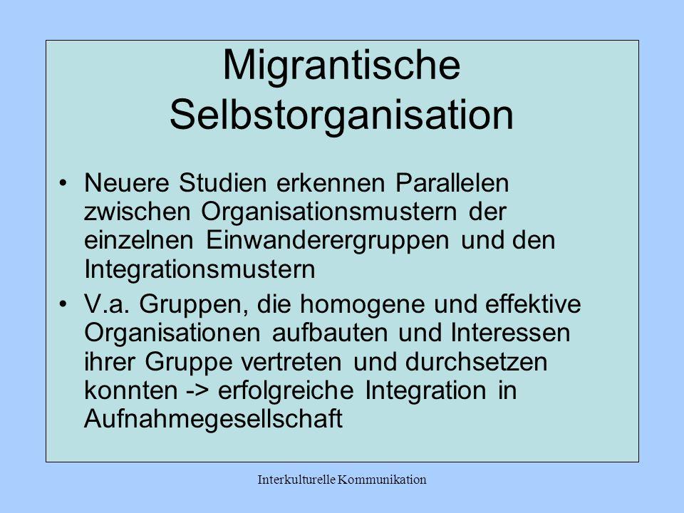 Migrantische Selbstorganisation
