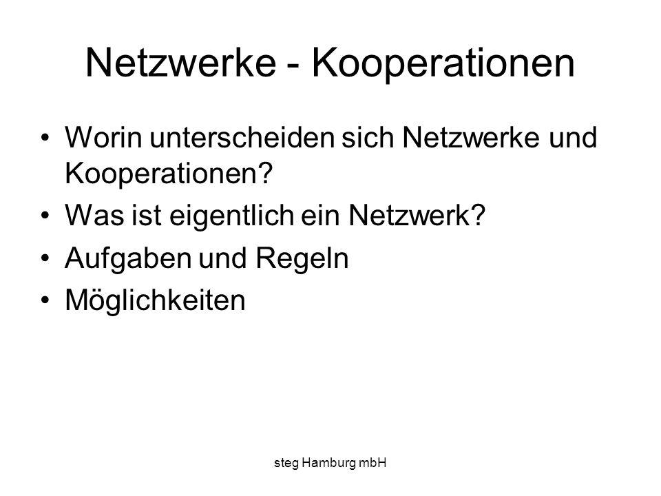 Netzwerke - Kooperationen