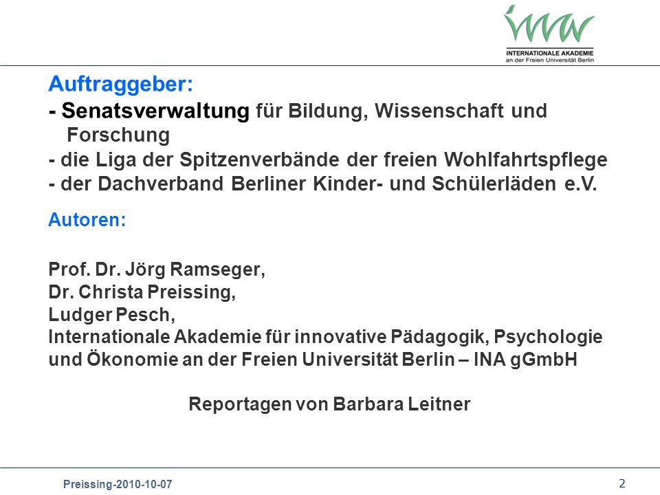 Reportagen von Barbara Leitner