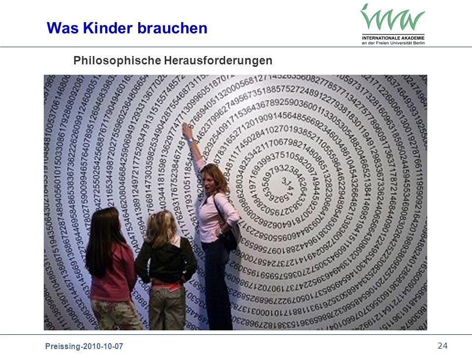 Philosophische Herausforderungen