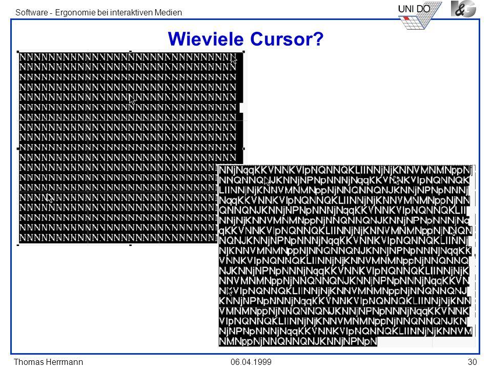 Wieviele Cursor