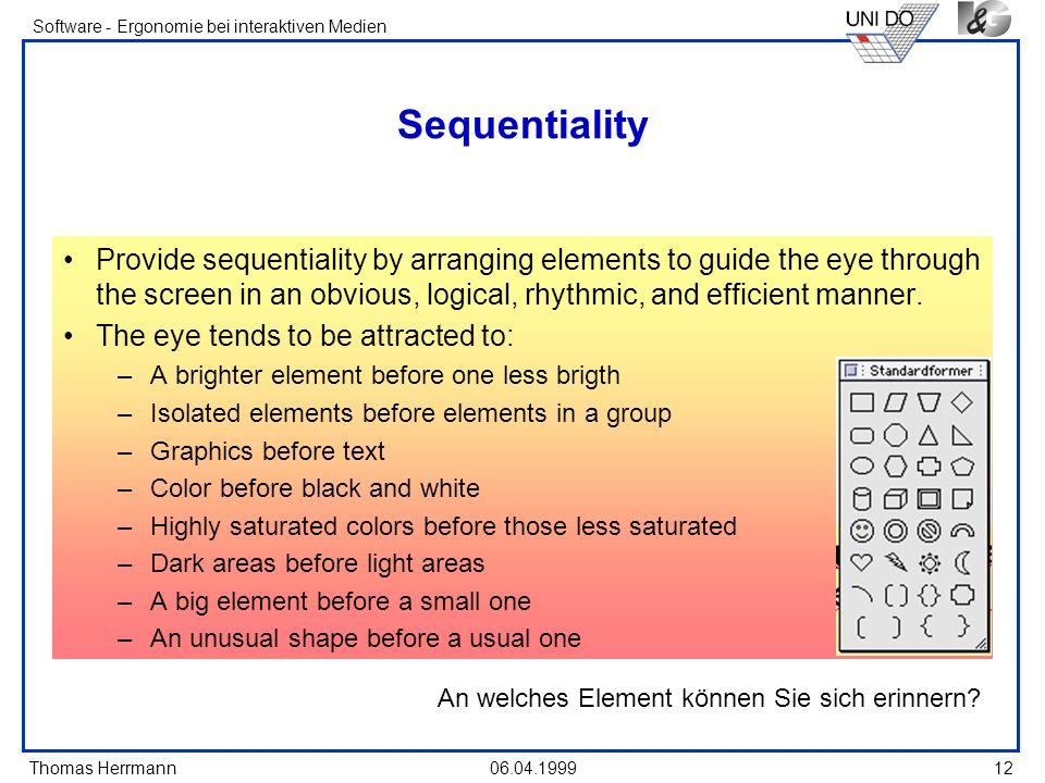 An welches Element können Sie sich erinnern