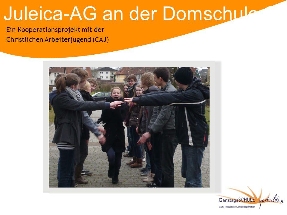 Juleica-AG an der Domschule Osnabrück