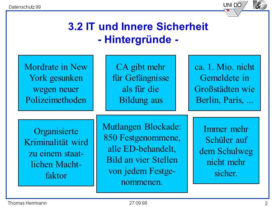 3.2 IT und Innere Sicherheit - Hintergründe -