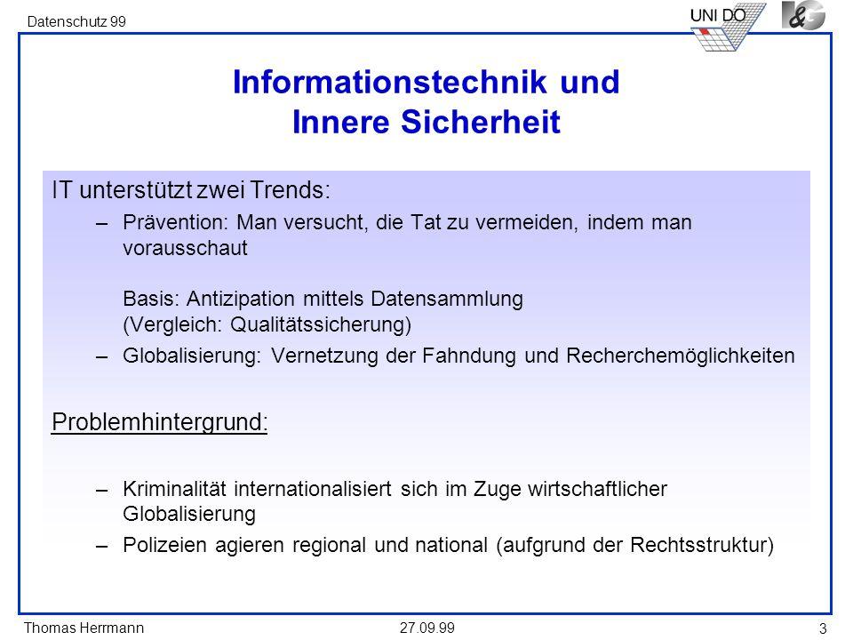 Informationstechnik und Innere Sicherheit