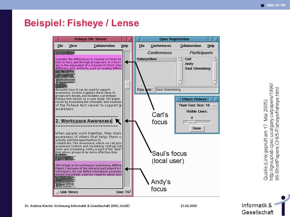 Beispiel: Fisheye / Lense