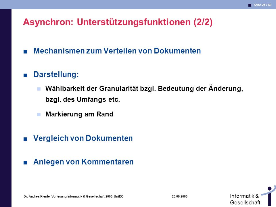 Asynchron: Unterstützungsfunktionen (2/2)