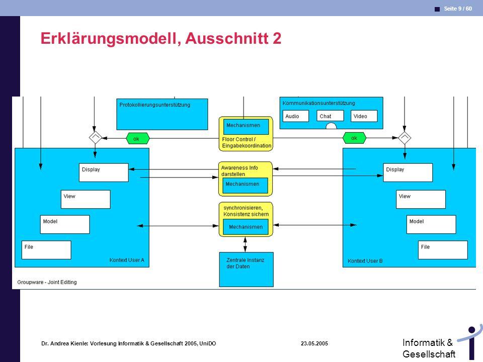 Erklärungsmodell, Ausschnitt 2