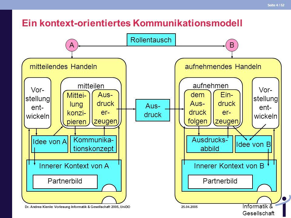 Ein kontext-orientiertes Kommunikationsmodell