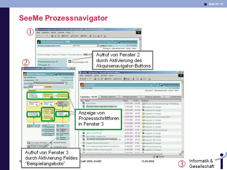 SeeMe Prozessnavigator