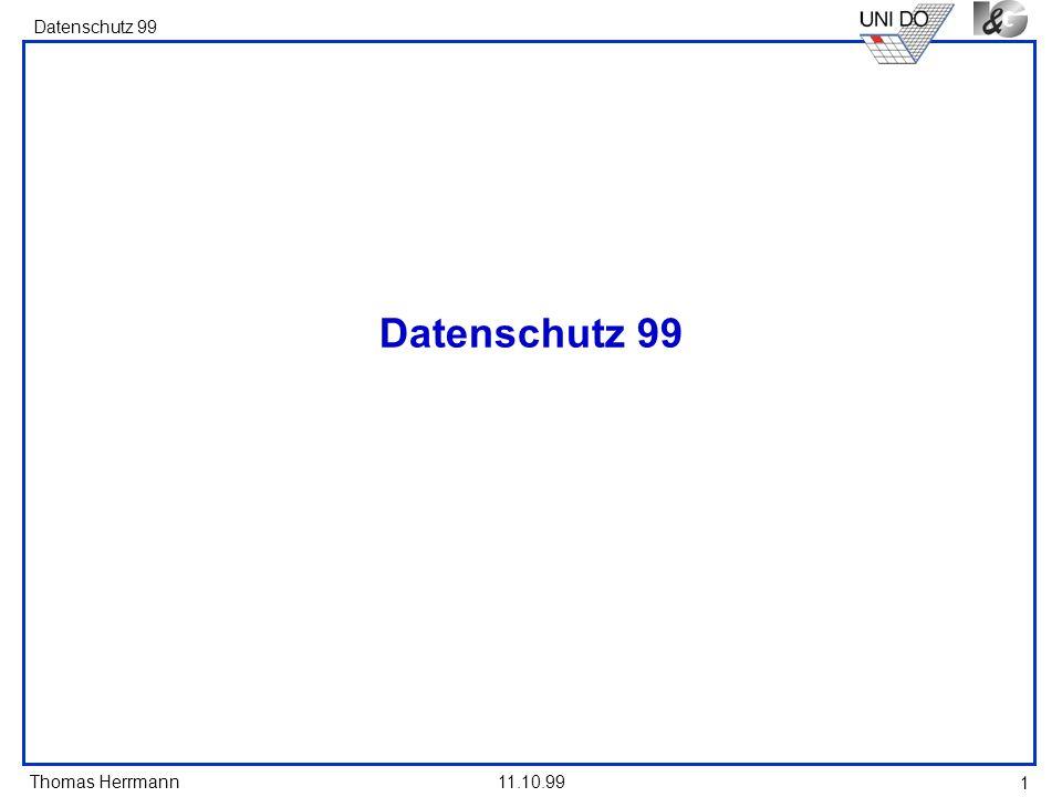 Datenschutz 99