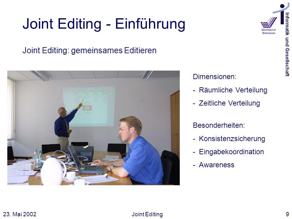 Joint Editing - Einführung