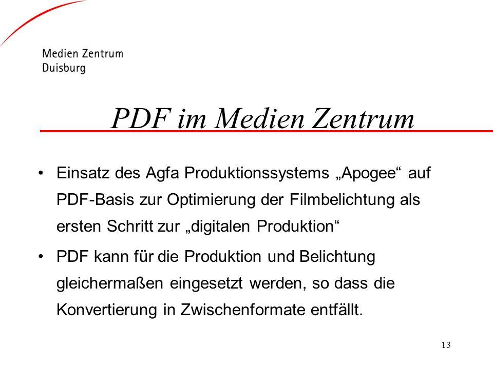 PDF im Medien Zentrum