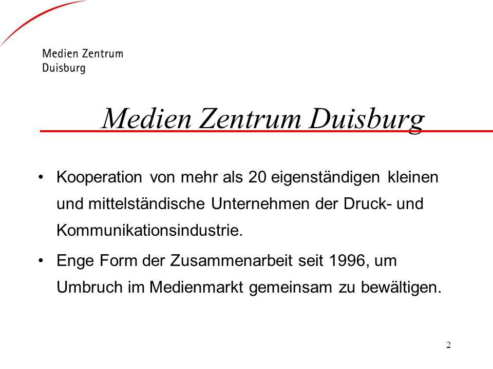 Medien Zentrum Duisburg