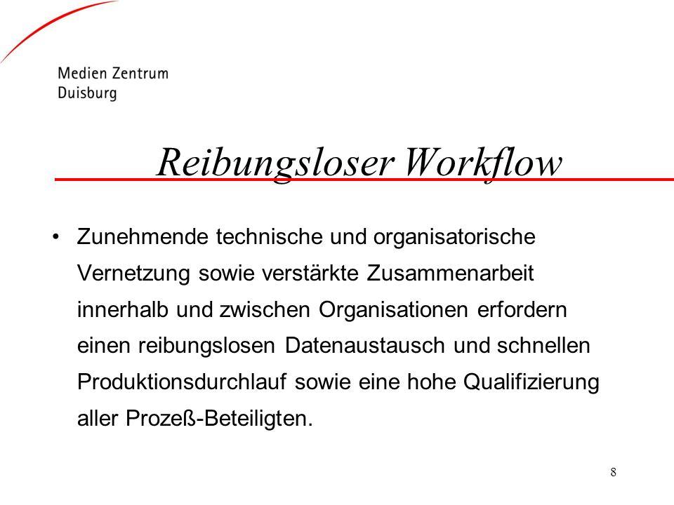 Reibungsloser Workflow
