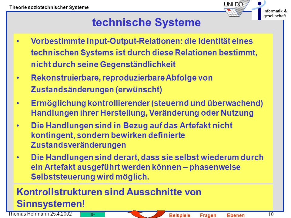 technische Systeme
