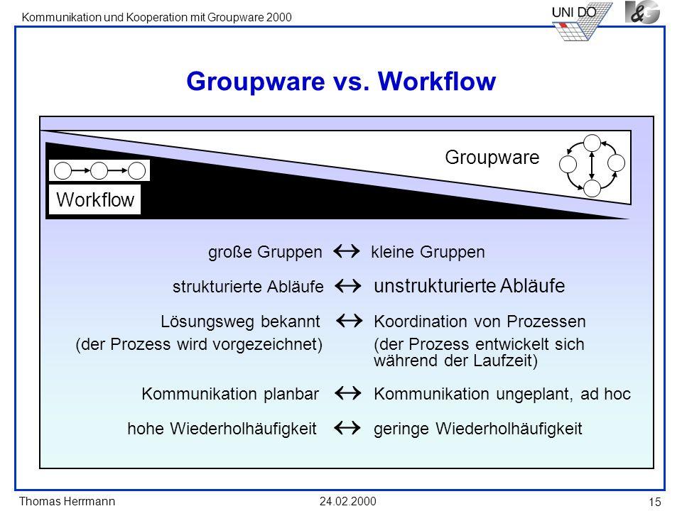 große Gruppen  kleine Gruppen