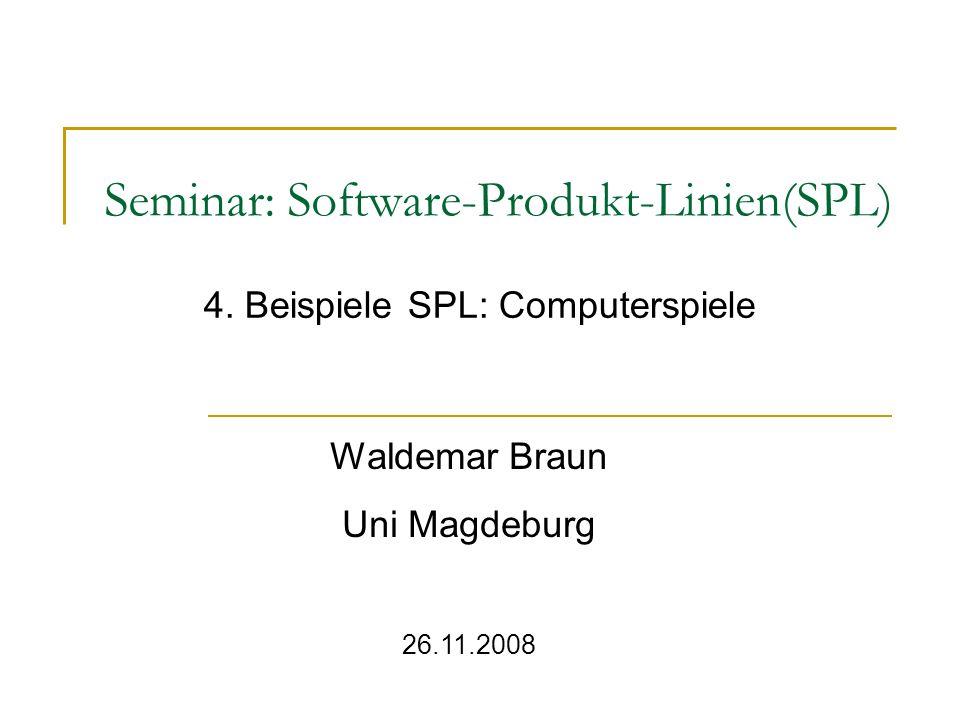 Seminar: Software-Produkt-Linien(SPL)