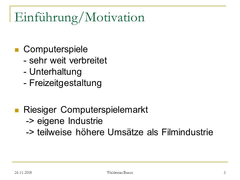 Einführung/Motivation