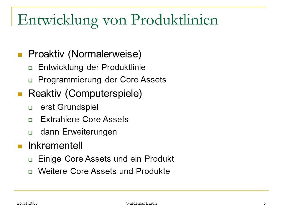Entwicklung von Produktlinien