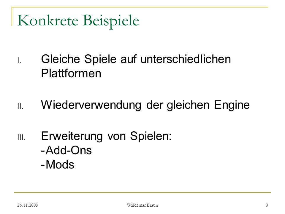 Konkrete Beispiele Gleiche Spiele auf unterschiedlichen Plattformen