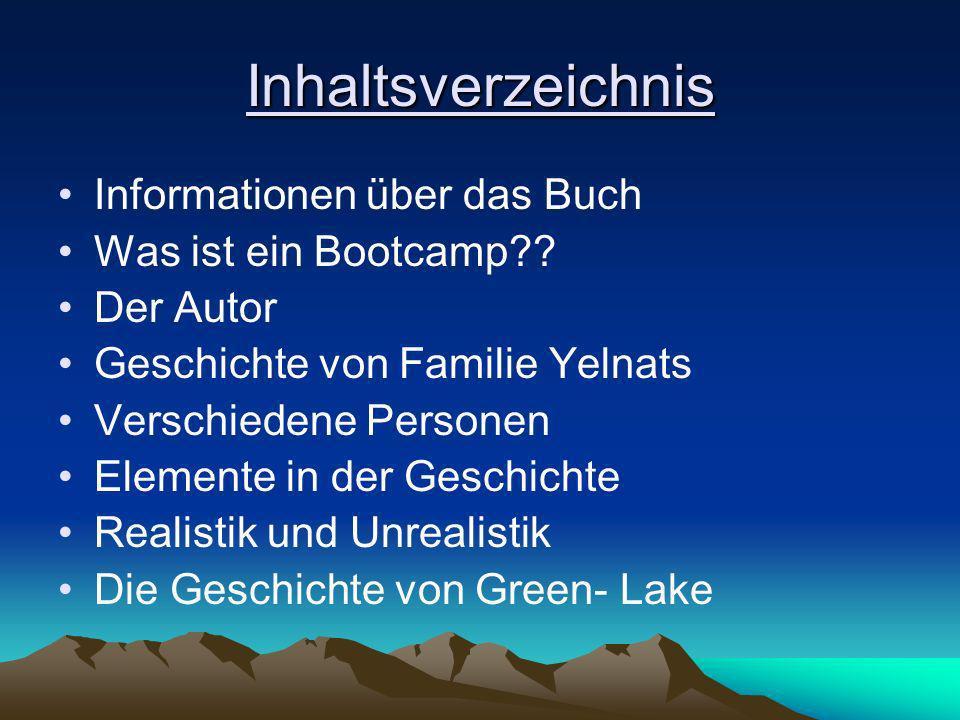 Inhaltsverzeichnis Informationen über das Buch Was ist ein Bootcamp