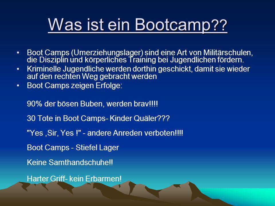 Was ist ein Bootcamp