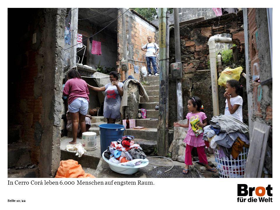 In Cerro Corá leben 6.000 Menschen auf engstem Raum.