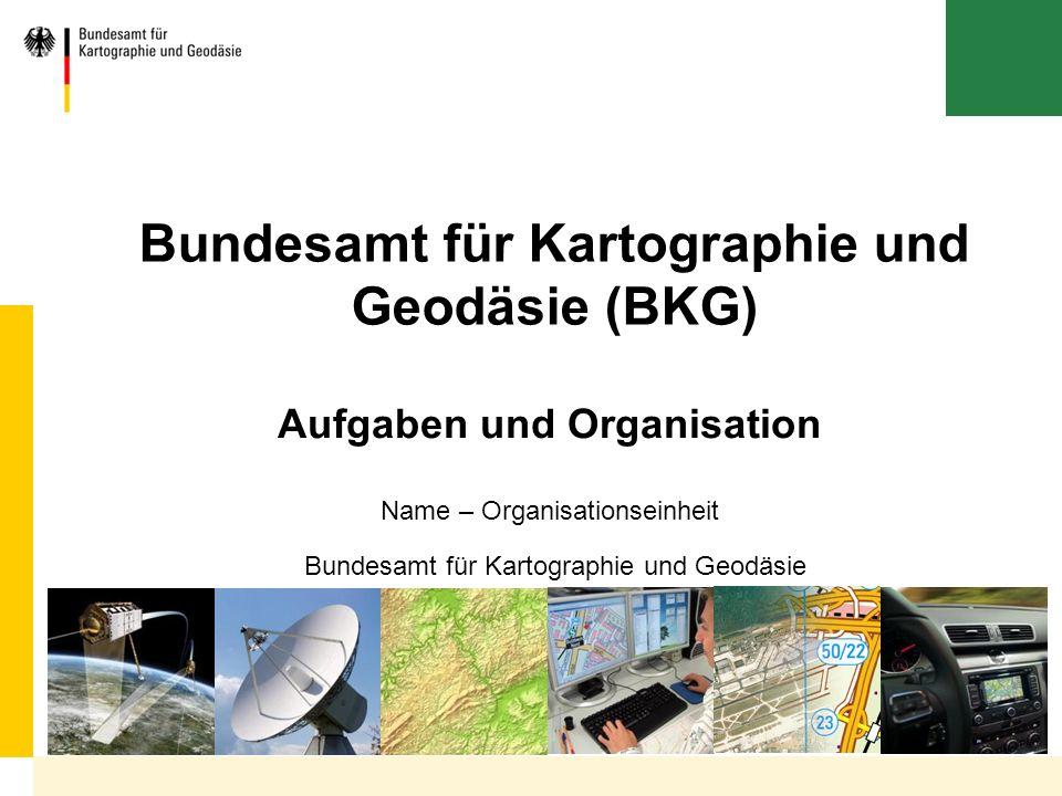 Bundesamt für Kartographie und Geodäsie (BKG)