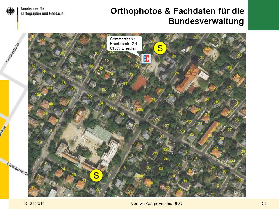 Orthophotos & Fachdaten für die Bundesverwaltung
