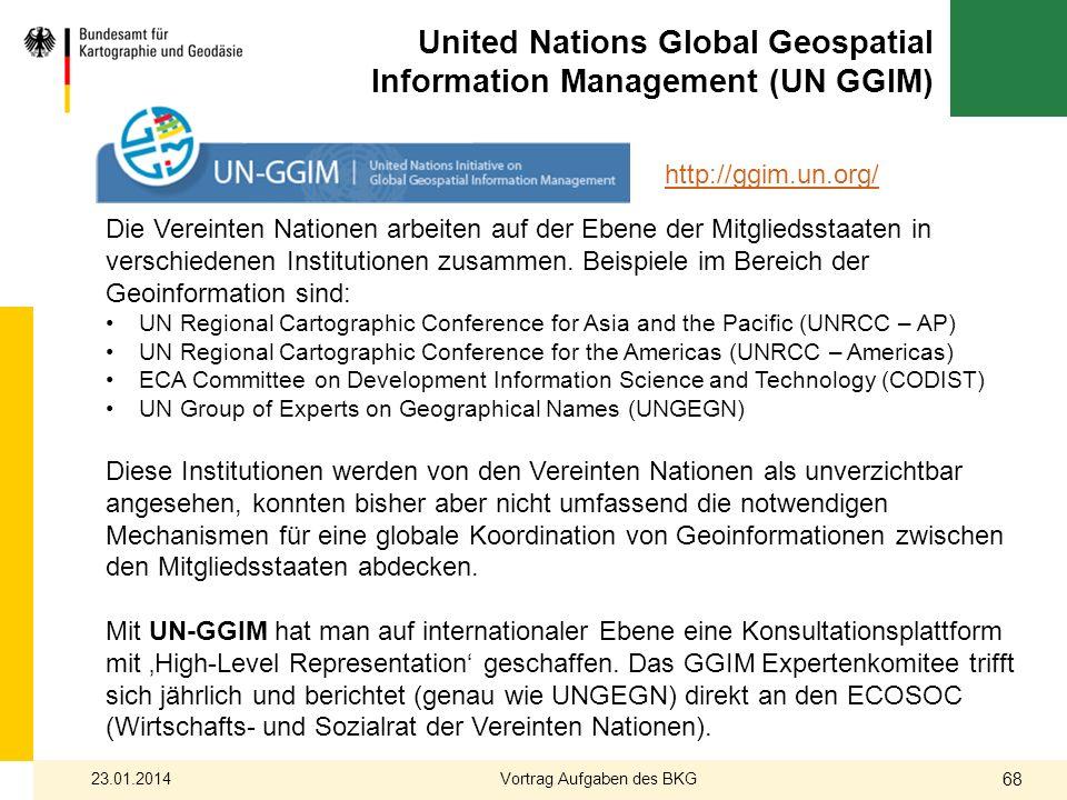 United Nations Global Geospatial Information Management (UN GGIM)