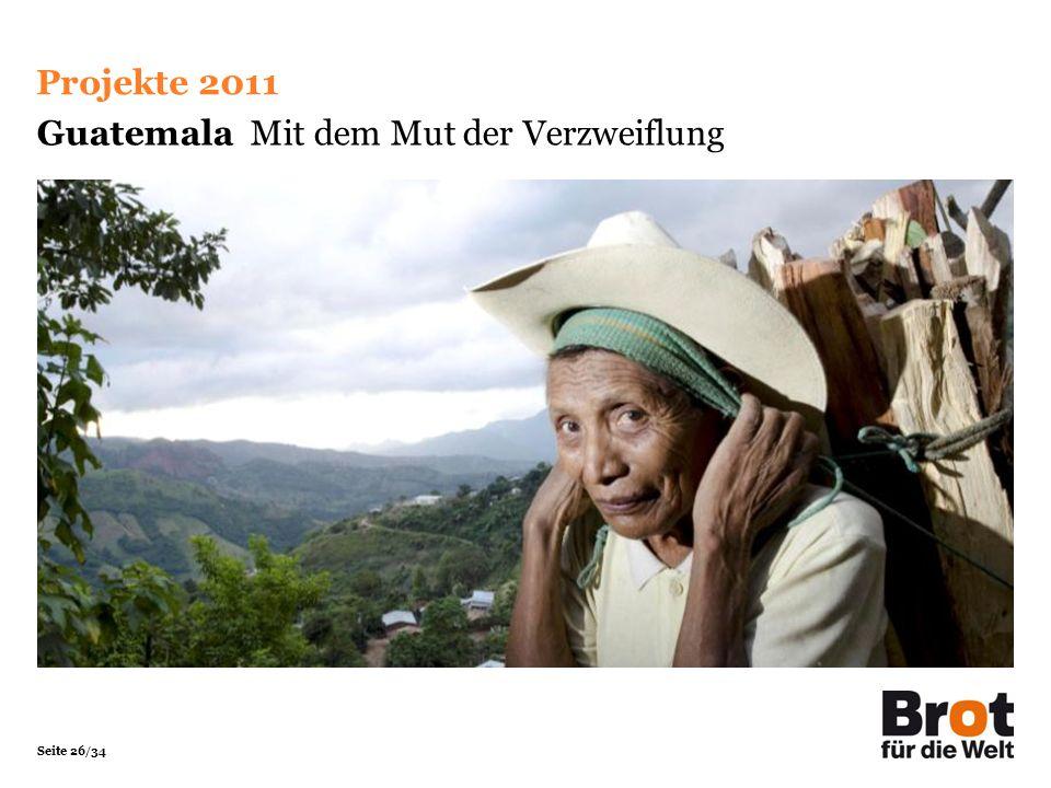 Guatemala Mit dem Mut der Verzweiflung
