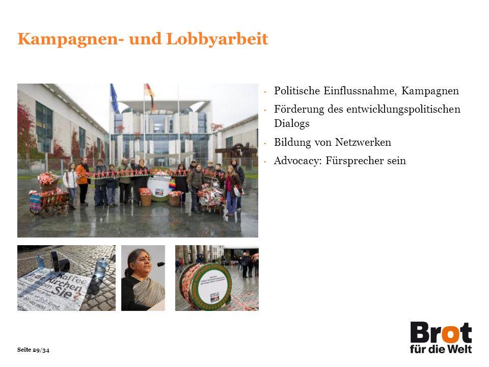 Kampagnen- und Lobbyarbeit