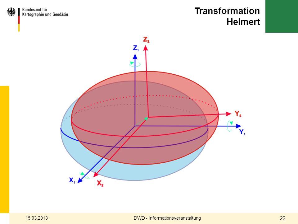 Transformation Helmert