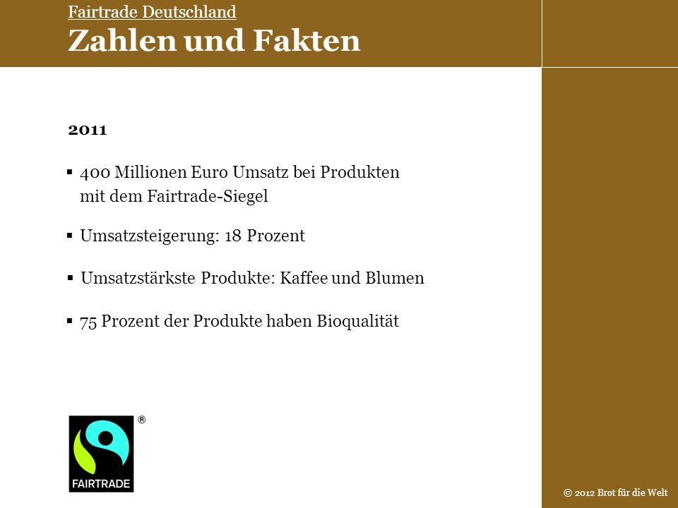 Fairtrade Deutschland Zahlen und Fakten