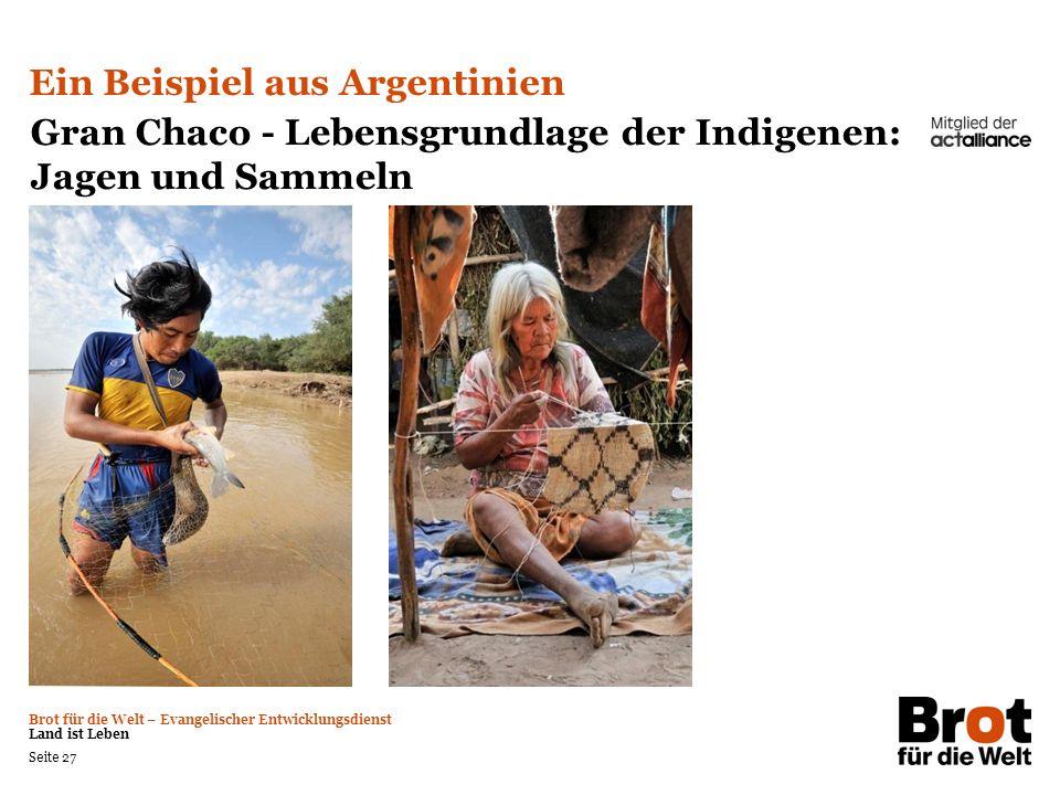 Ein Beispiel aus Argentinien