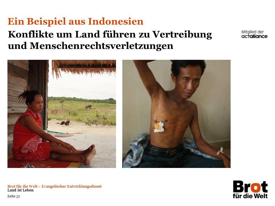Ein Beispiel aus Indonesien