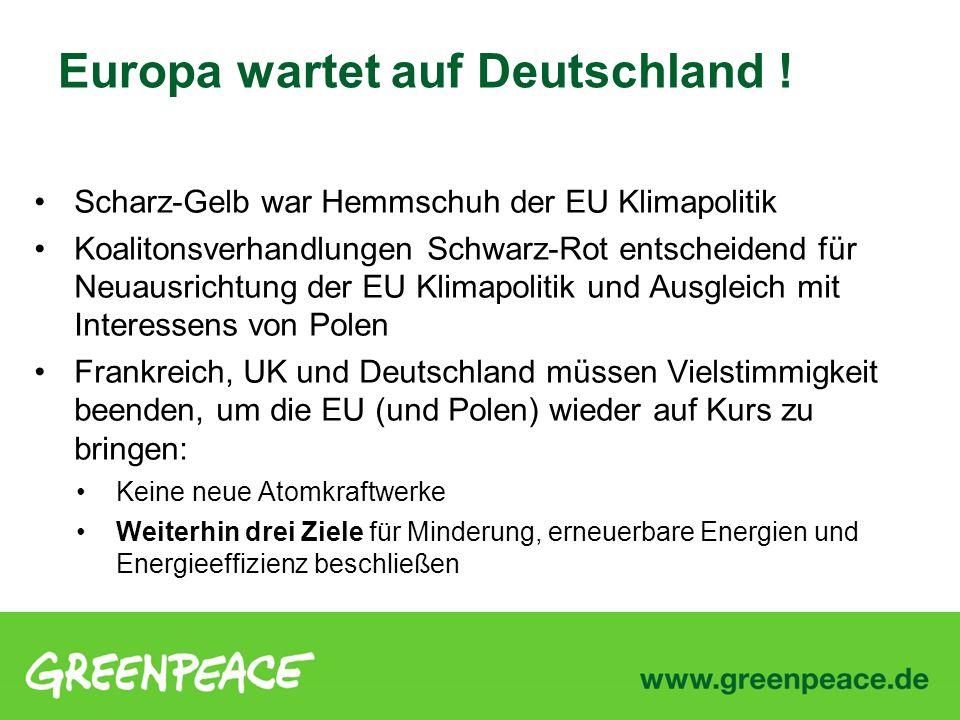 Europa wartet auf Deutschland !